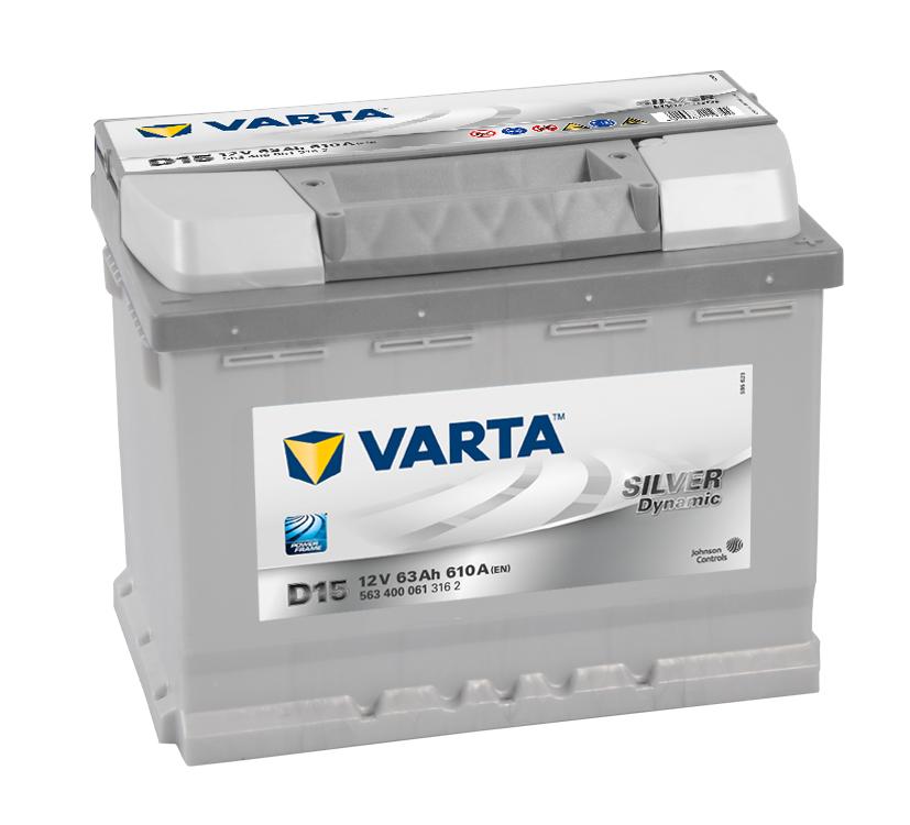 Аккумулятор Varta D15, арт. 563 400 061 316 2