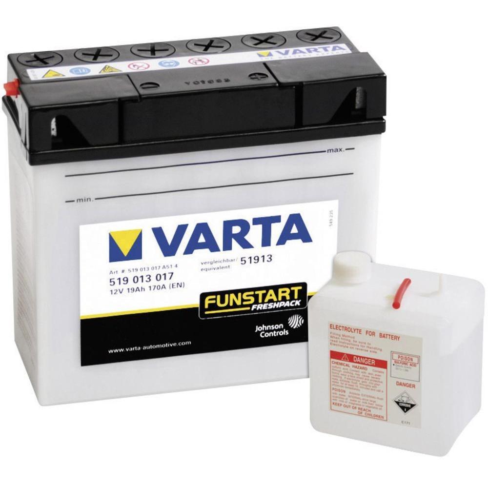 Аккумулятор Varta 51913, арт. 519 013 017 A51 4