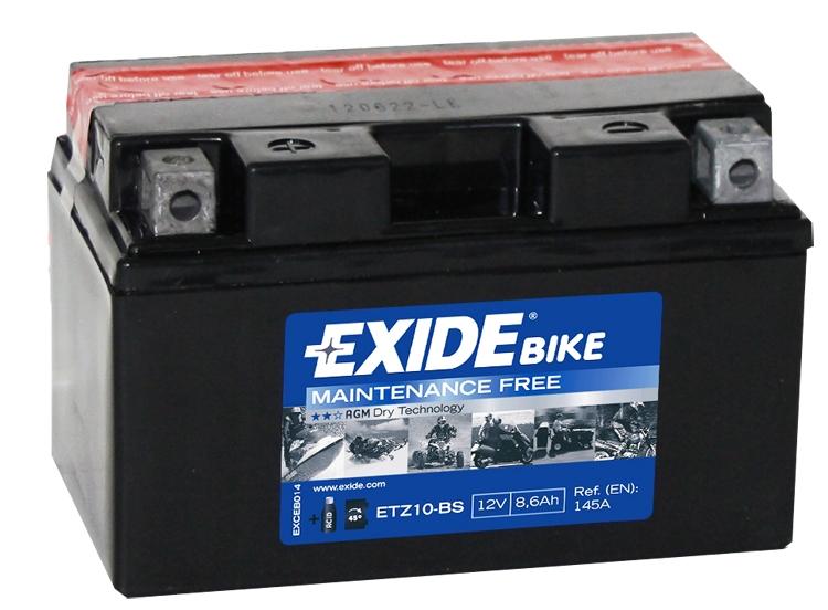 Аккумулятор Exide ETZ10-BS, арт. ETZ10-BS