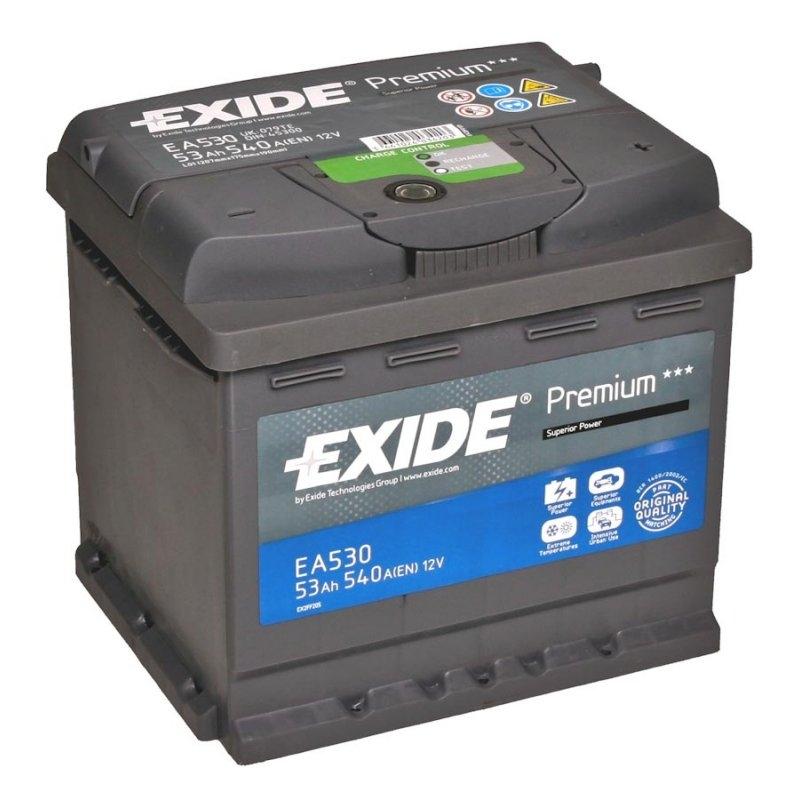 Аккумулятор Exide EA530, арт. EA530