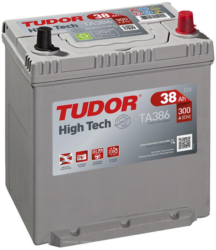 Аккумулятор Tudor TA386, арт. TA386