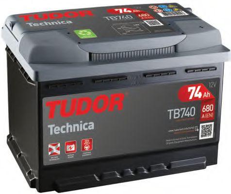 Аккумулятор Tudor TB740, арт. TB740
