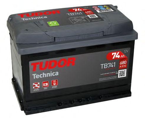 Аккумулятор Tudor TB741, арт. TB741
