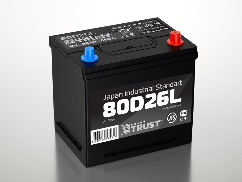 Аккумулятор Trust 80D26L, арт. 80D26L