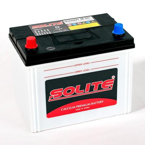 Аккумулятор Solite 95D26R, арт. 95D26R