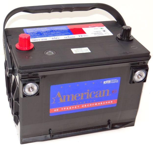 Аккумулятор American 78DT850, арт. 78DT850