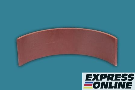 Накладка торм. ГАЗ-3309 задняя раздельная,арт.53-3502105-03