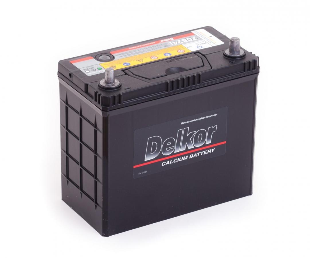 Аккумулятор Delkor 70B24L, арт. 70B24L