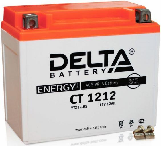 Аккумулятор Delta Battery CT1212, арт. CT1212