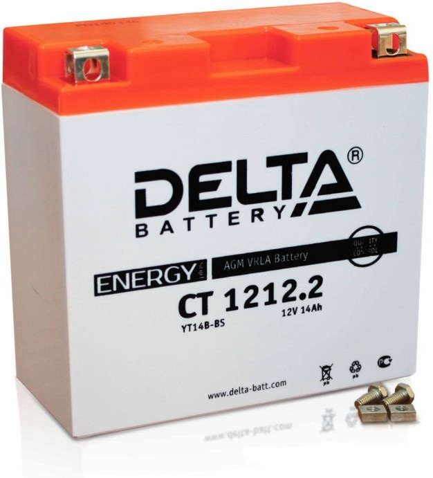 Аккумулятор Delta Battery CT1212.2, арт. CT1212.2