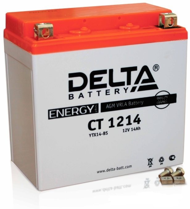 Аккумулятор Delta Battery CT1214, арт. CT1214