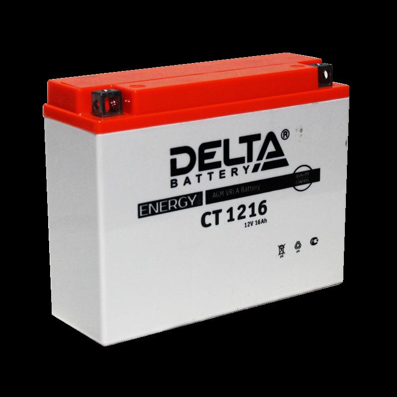 Аккумулятор Delta Battery CT1216, арт. CT1216