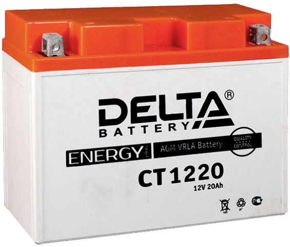 Аккумулятор Delta Battery CT1220 , арт. CT1220