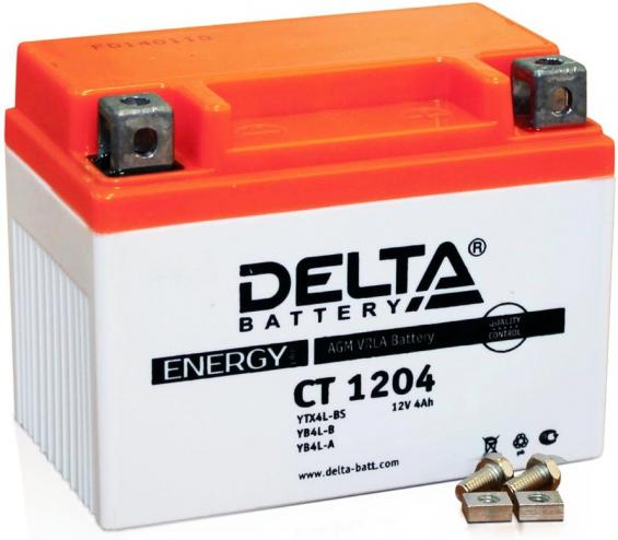 Аккумулятор Delta Battery CT1204, арт. CT1204