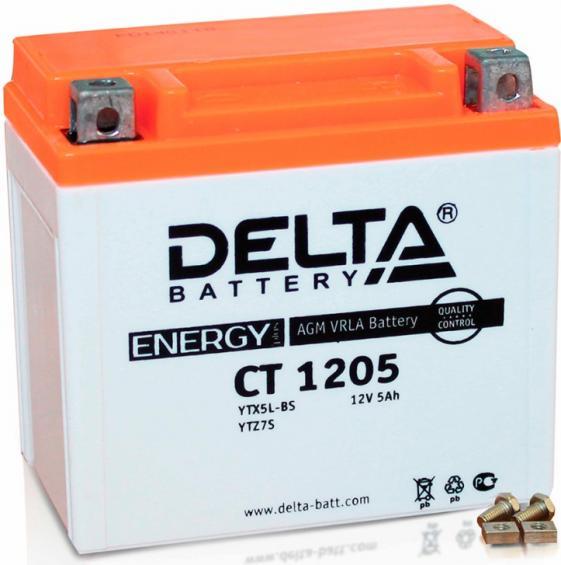 Аккумулятор Delta Battery CT1205, арт. CT1205