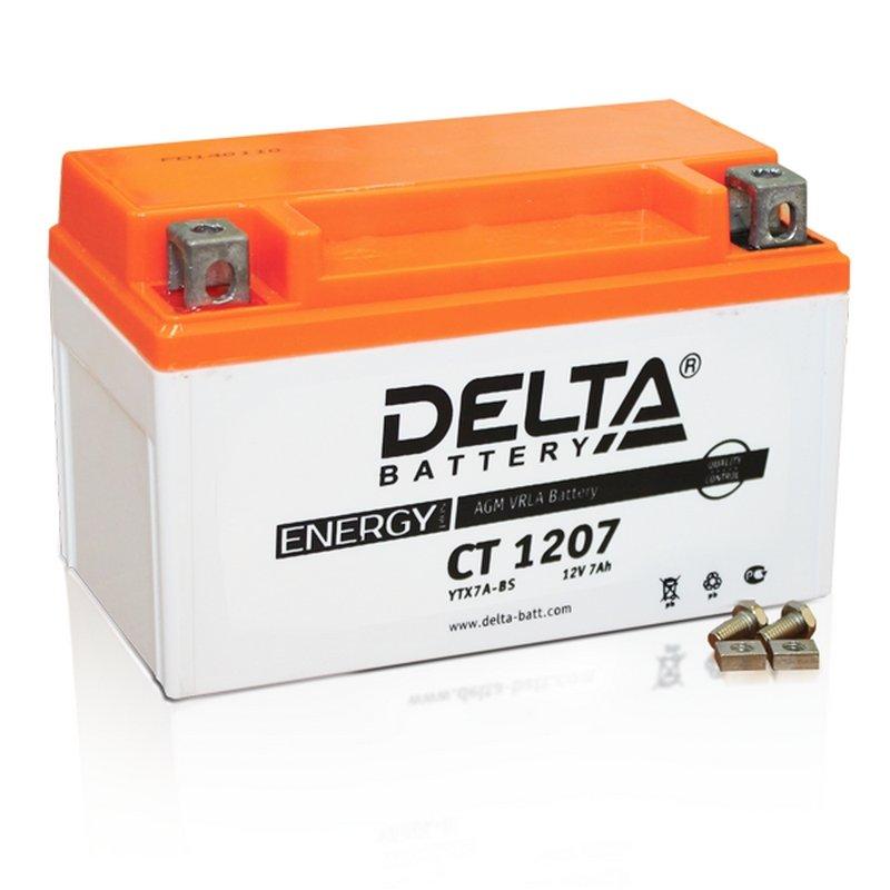 Аккумулятор Delta Battery CT1207, арт. CT1207