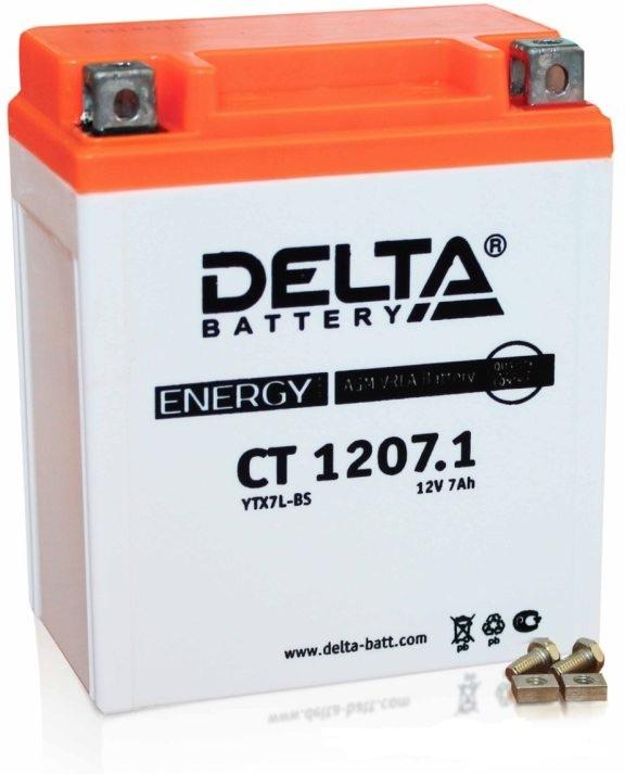 Аккумулятор Delta Battery CT1207.1, арт. CT1207.1