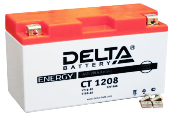 Аккумулятор Delta Battery CT1208, арт. CT1208
