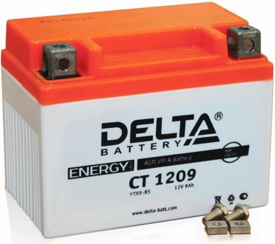 Аккумулятор Delta Battery CT1209, арт. CT1209