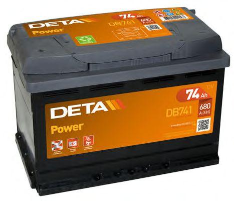 Аккумулятор Deta DB741, арт. DB741