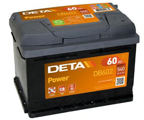 Аккумулятор Deta DB602, арт. DB602