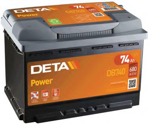 Аккумулятор Deta DB740, арт. DB740