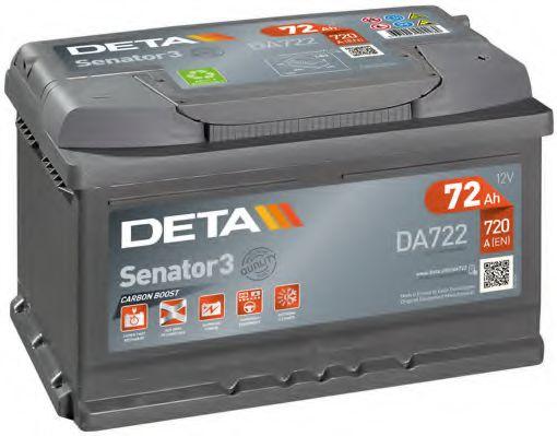 Аккумулятор Deta DA722, арт. DA722