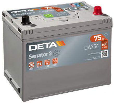 Аккумулятор Deta DA754, арт. DA754