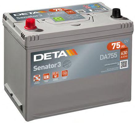 Аккумулятор Deta DA755, арт. DA755