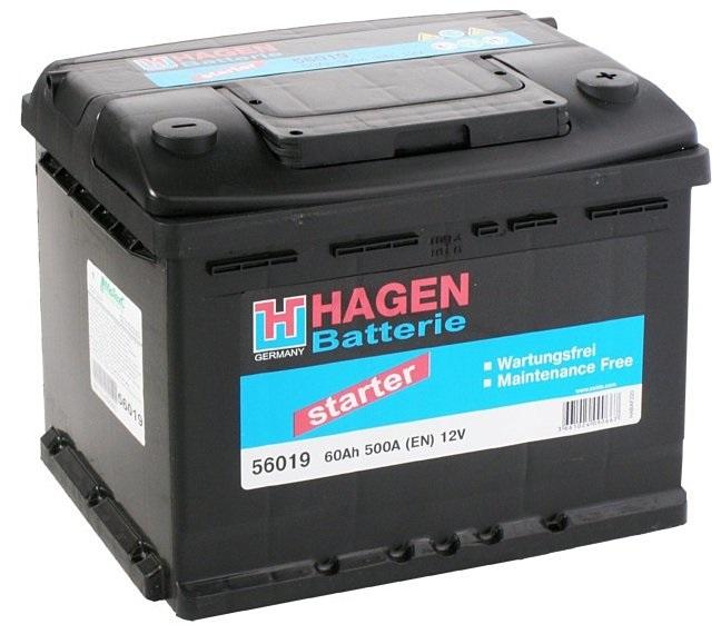 Аккумулятор Hagen 56019, арт. 56019