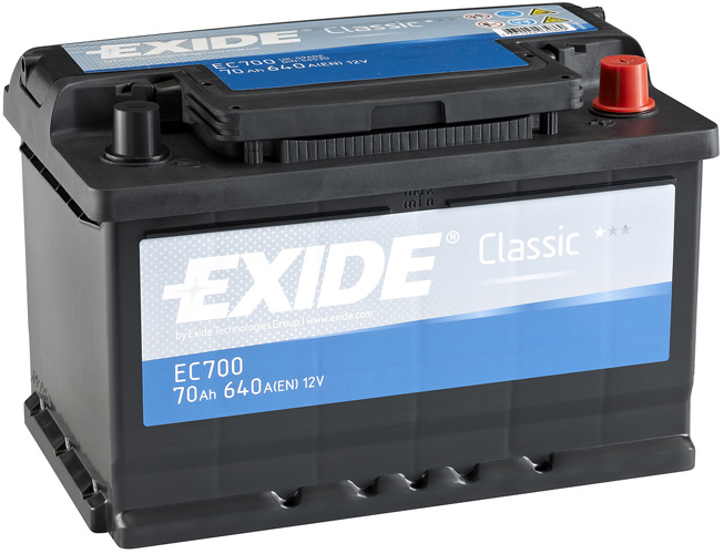 Аккумулятор Exide EC700, арт. EC700