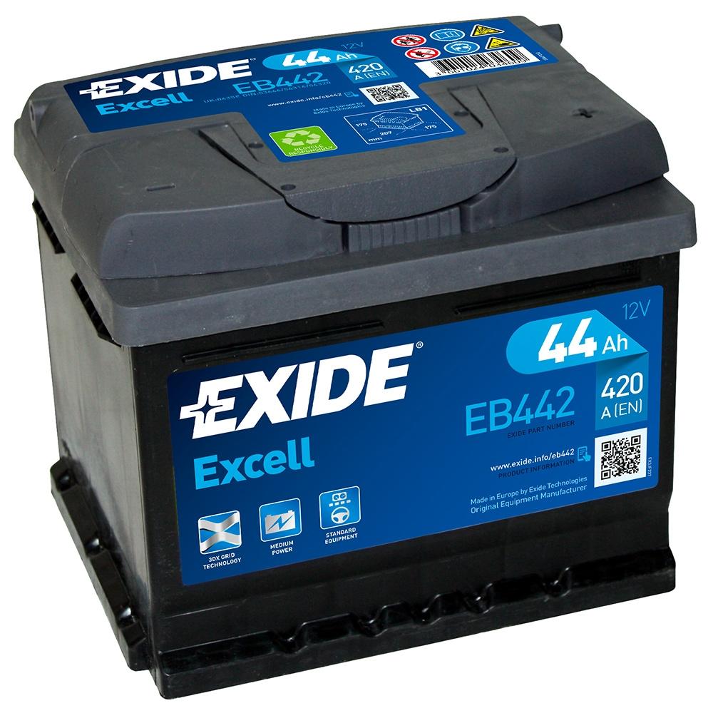 Аккумулятор Exide EB442, арт. EB442