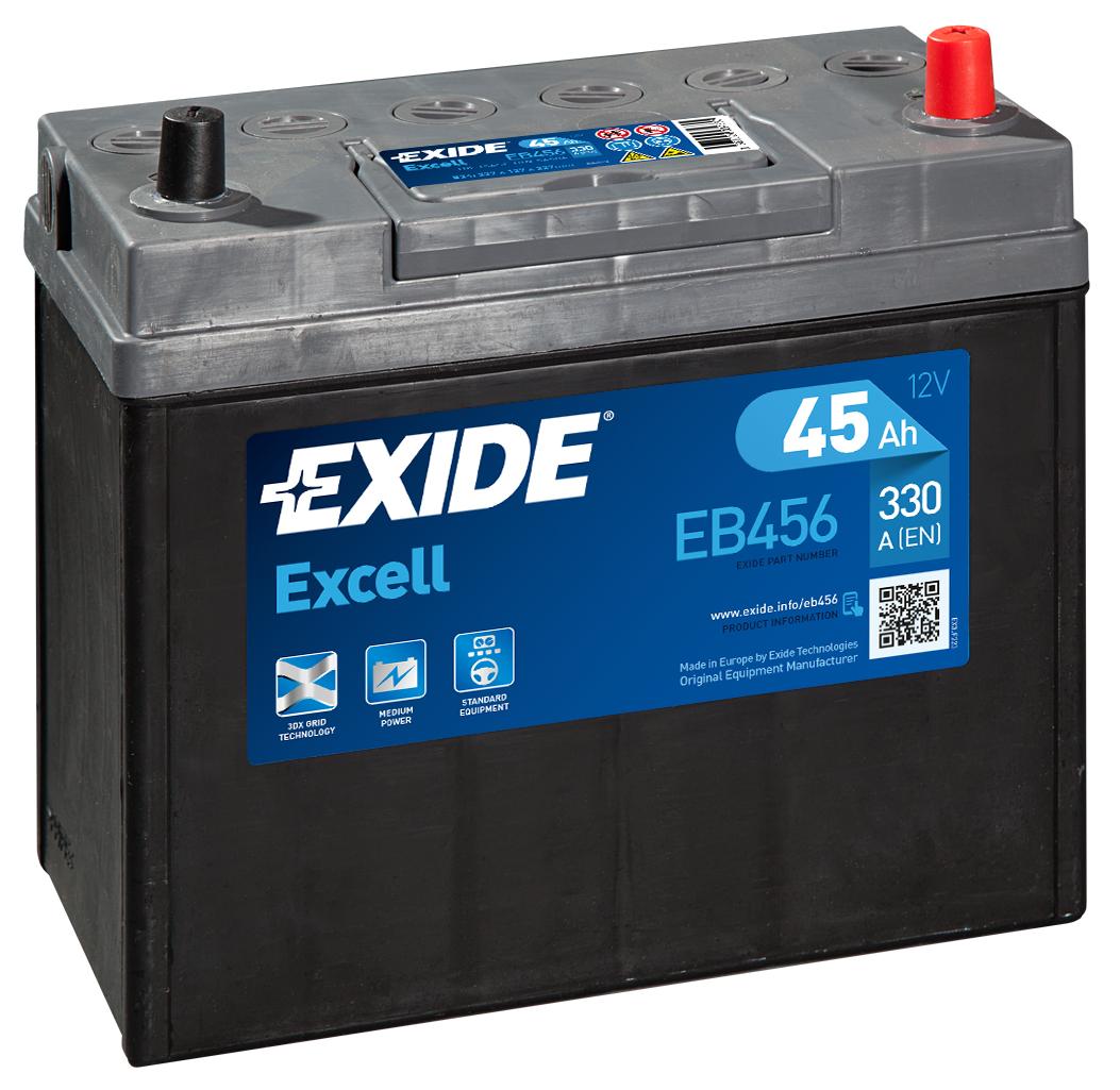Аккумулятор Exide EB456, арт. EB456