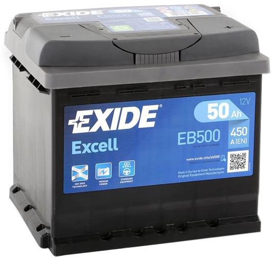 Аккумулятор Exide EB500, арт. EB500