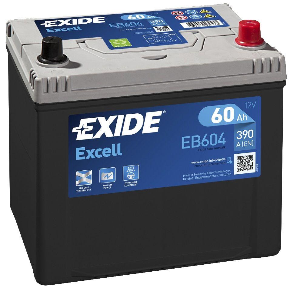 Аккумулятор Exide EB604, арт. EB604
