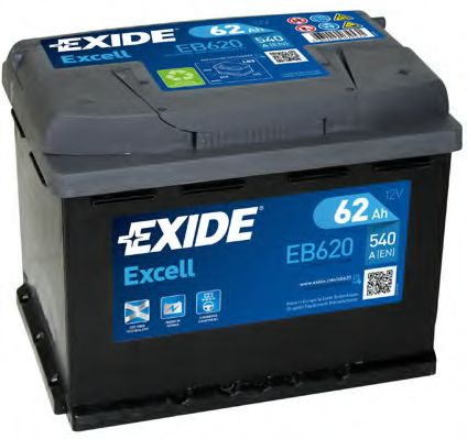 Аккумулятор Exide EB620, арт. EB620