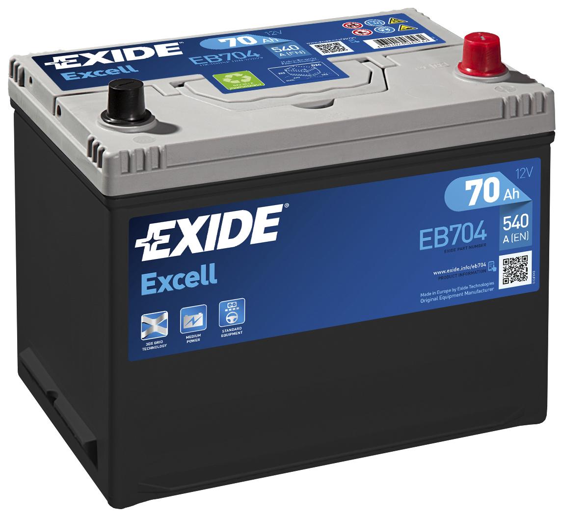 Аккумулятор Exide EB704, арт. EB704