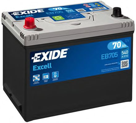Аккумулятор Exide EB705, арт. EB705