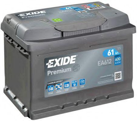 Аккумулятор Exide EA612, арт. EA612