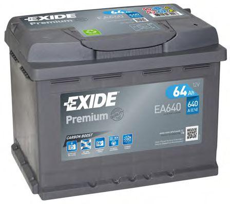 Аккумулятор Exide EA640, арт. EA640