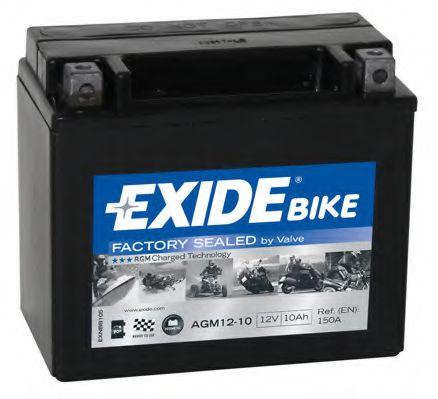 Аккумулятор Exide AGM12-10, арт. AGM12-10