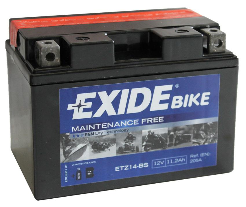 Аккумулятор Exide ETZ14-BS, арт. ETZ14-BS