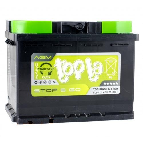 Аккумулятор Topla 114060 , арт. 114060