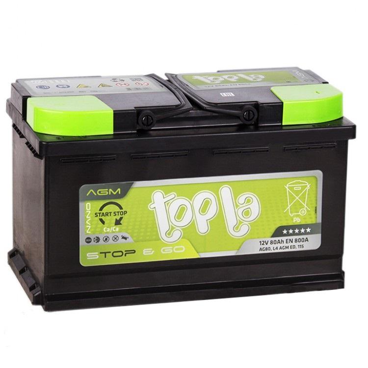 Аккумулятор Topla 114080, арт. 114080