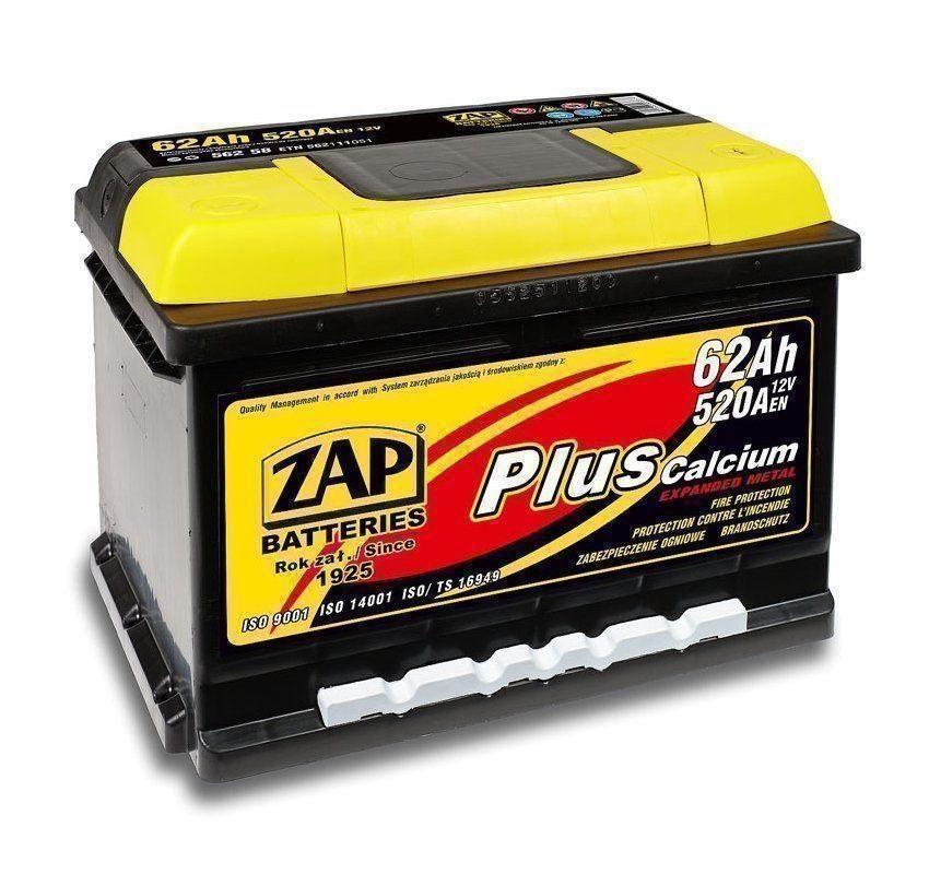 Аккумулятор Zap 562 95, арт. 56295