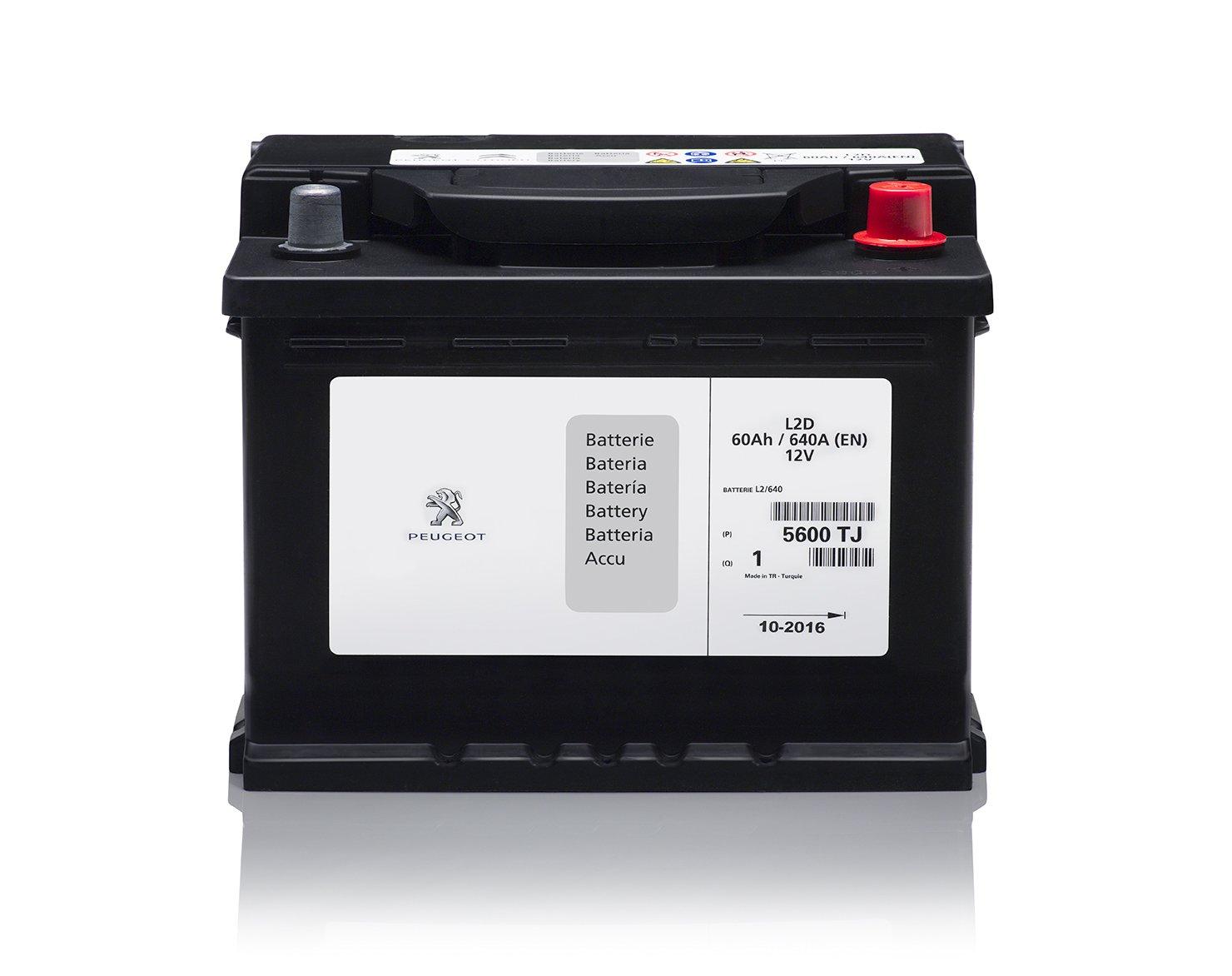 Аккумулятор Citroen/Peugeot (Eurorepar) 5600TJ, арт. 5600TJ