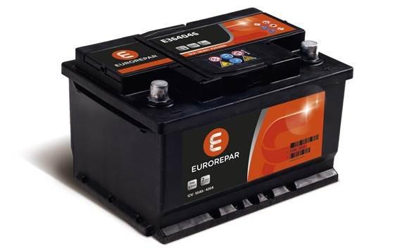 Аккумулятор Citroen/Peugeot (Eurorepar) E364053, арт. E364053