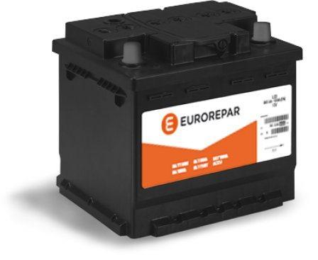 Аккумулятор Citroen/Peugeot (Eurorepar) 1609232480, арт. 1609232480