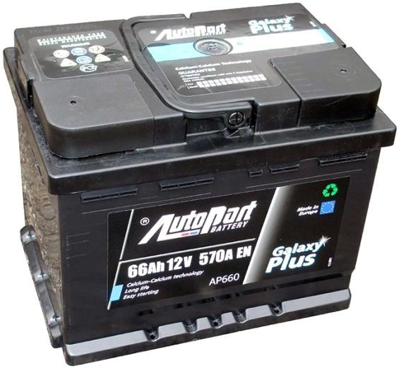 Аккумулятор Autopart AP 660, арт. AP660