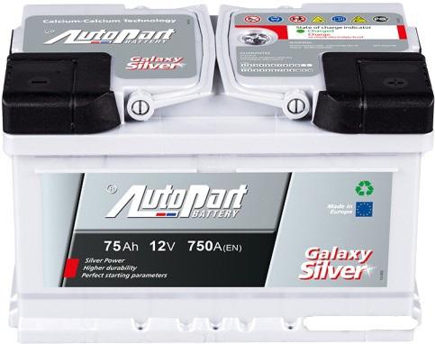 Аккумулятор Autopart GL 750, арт. GL750